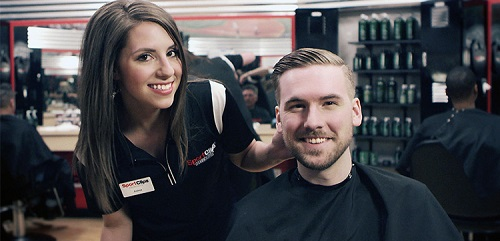 Sport Clips Haircuts of Maple Grove - Arbor Lakes​ stylist hair cut